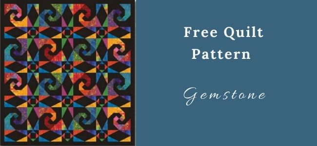 I love Quilting Forever_Gemstone Quilt