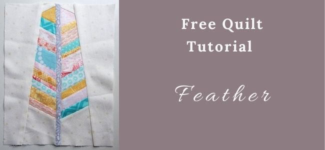 I love Quilting Forever Feather Quilt Pattern