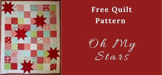 I love Quilting Forever_Oh My Stars Quilt