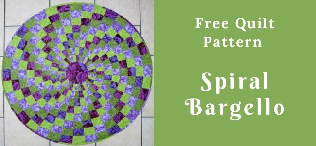 I love Quilting Forever_Spiral Bargello Quilt