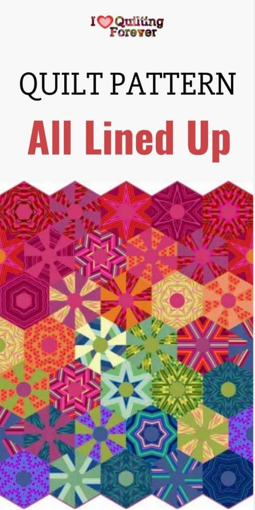 All Lined Up Quilt - Pinterest - Free Pattern