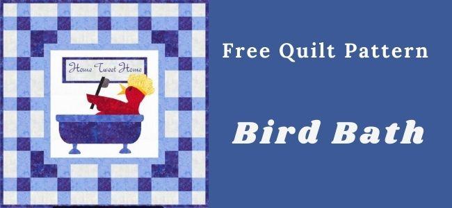 Birdbath Quilt