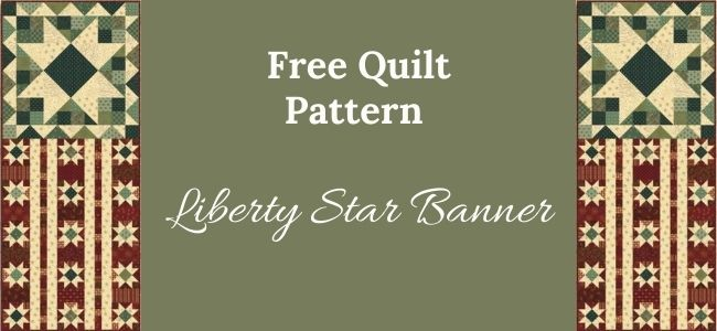 I love Quilting Forever_Liberty Star Banner quilt