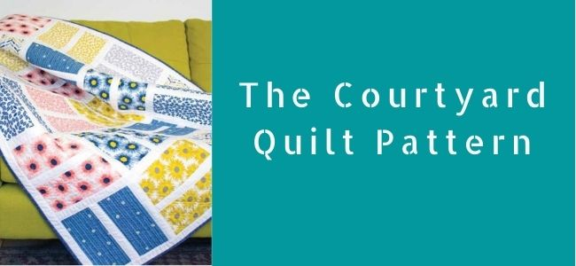 The Courtyard quilt