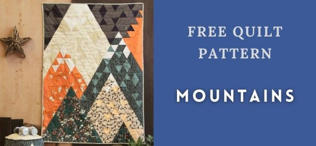 I love Quilting Forever Mountains quilt