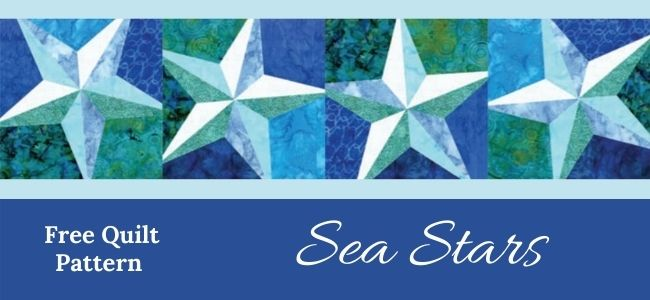 I love Quilting Forever_Sea Stars Quilt