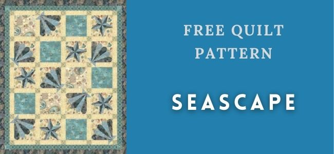I love Quilting Forever_Seascape quilt