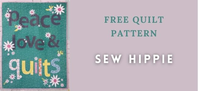 I love Quilting Forever_Sew Hippie quilt