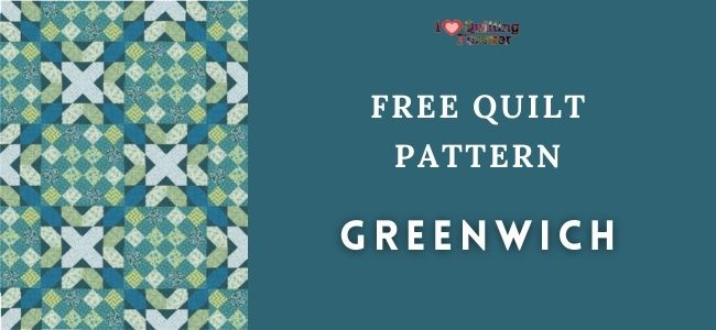 I love Quilting Forever greenwich quilt