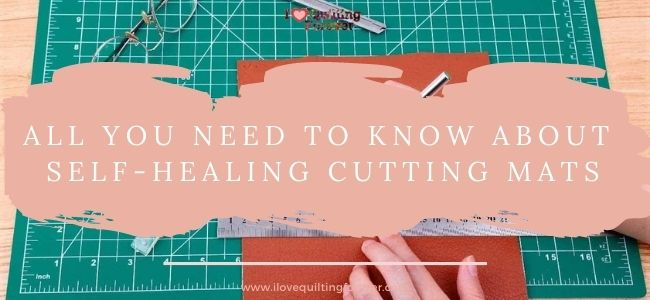 I love Quilting Forever_Self-Healing Cutting Mats