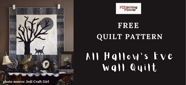 All Hallow's Eve Wall Quilt Featured Cover - ILQF