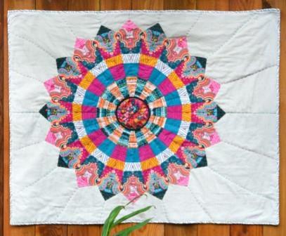 Cosmos (Dresden Mandala Quilt)