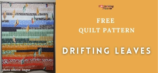 Drifting Leaves Quilt Featured Cover - ILQF