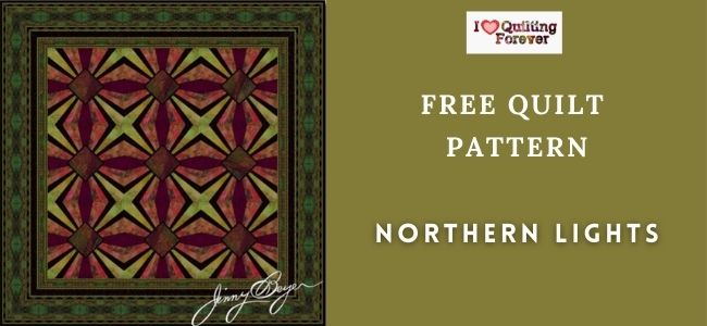 Northern Lights Quilt featured cover - ILQF