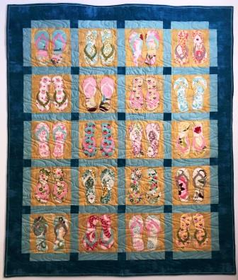 Sand Surf and Sun quilt