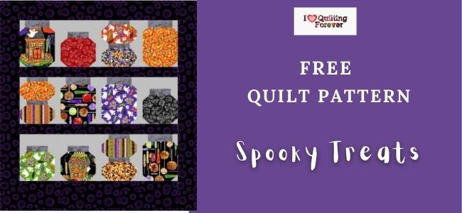 Spooky Treats Quilt Featured Cover- ILQF