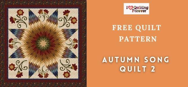 Autumn Song Quilt 2 featured cover - ILQF