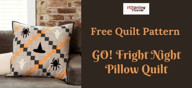 GO! Fright Night Pillow Quilt featured cover - ILQF