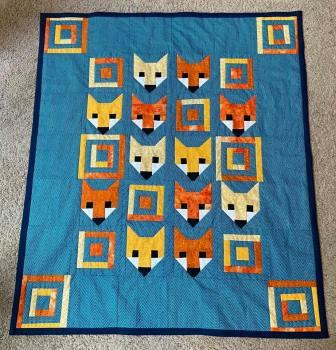 fox quilt Tracey Naegle quilt 2