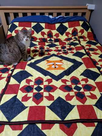 timmy's quilt by Donna Marroquin